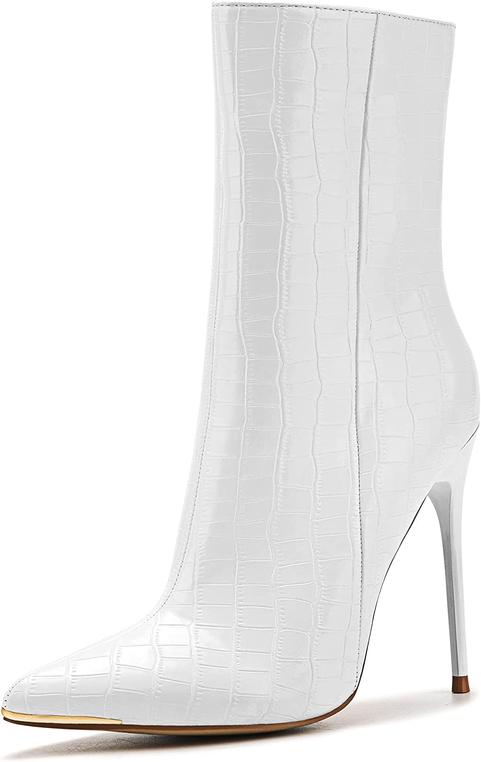 Women's Spring new work one after another Heeled Popular brand Boots Stiletto Booties Se Side Zipper Pointed Toe