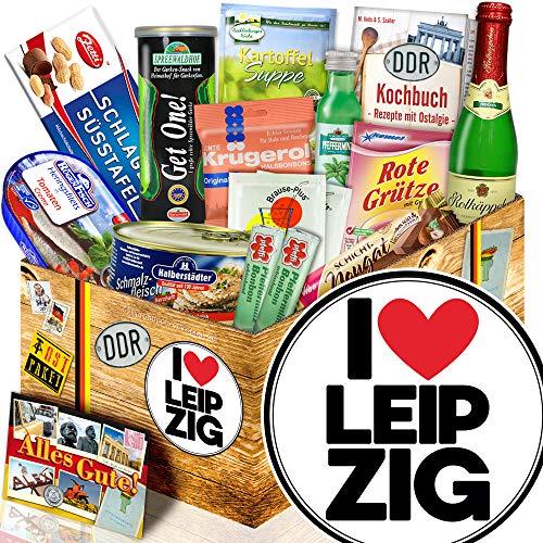 I love Leipzig / Leipzig Geschenkidee / DDR Spezialitäten Set