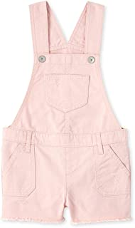 The Children's Place Girls' Short Overalls
