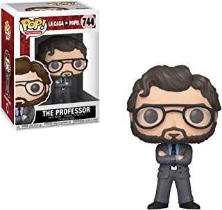 Funko The Professor: Money Heist (La Casa De Papel) x POP! TV Vinyl Figure & 1 POP! Compatible PET Plastic Graphical Prote...