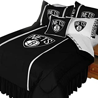 Sports Coverage NBA Brooklyn Nets Twin Comforter Set Basketball Bedding