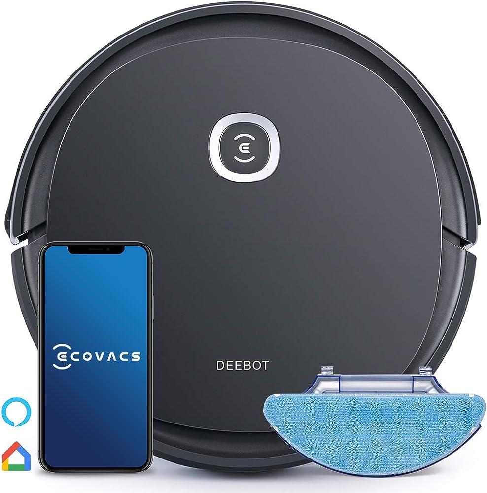Ecovacs deebot u2 pro robot aspirapolvere e lavapavimenti 6943757600090