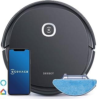 Aspirateur Robot Laveur, Ecovacs DEEBOT U2pro (2 bac à poussière, Brosse Anti-enchevêtrement, 150 Min d'autonomie, Alexa) ...