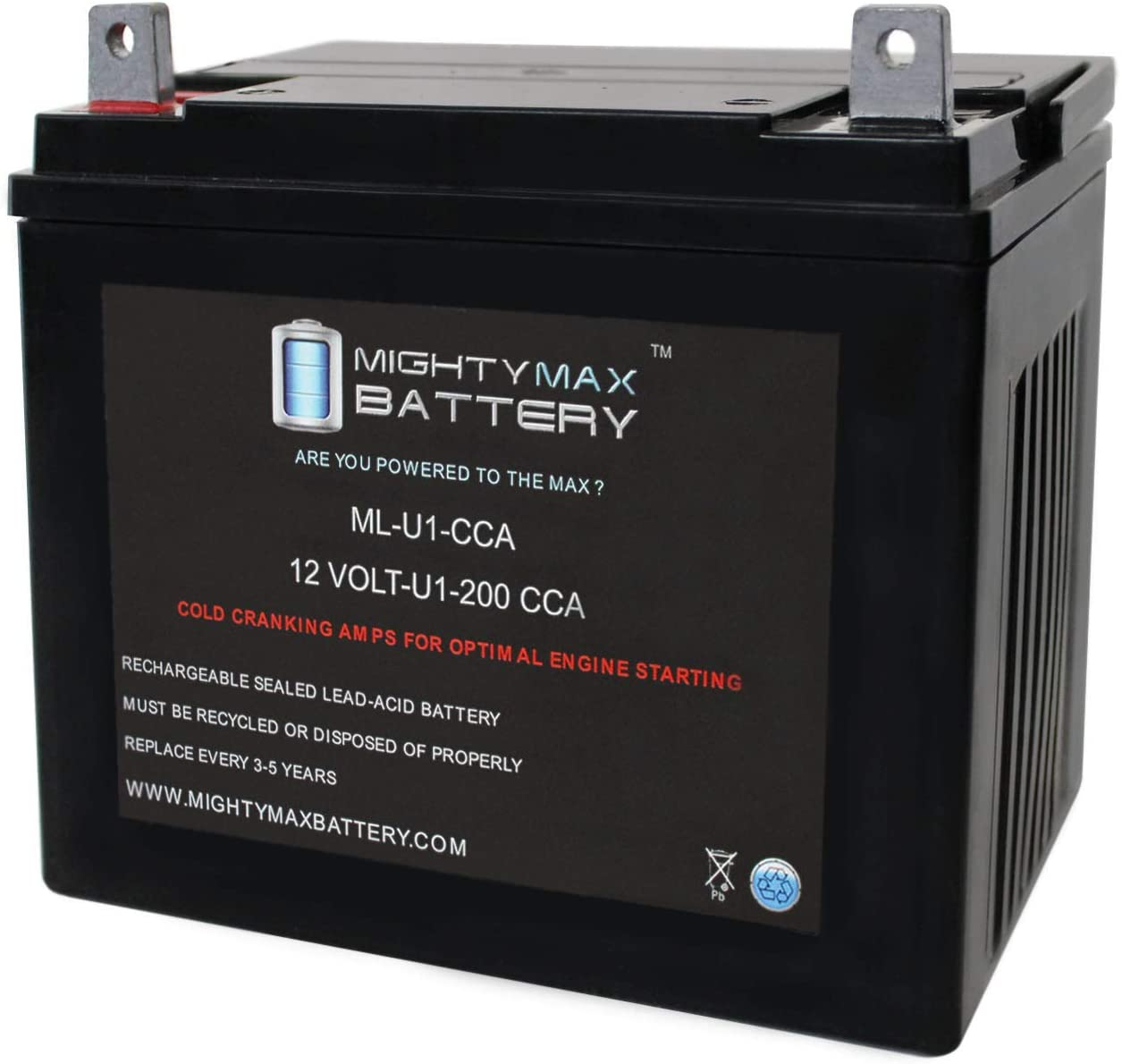 Mighty Max Battery ML-U1 200CCA for 66% OFF Ze Z Hustler Challenge the lowest price
