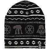 Star Wars Holiday Knit Beanie Hat Black