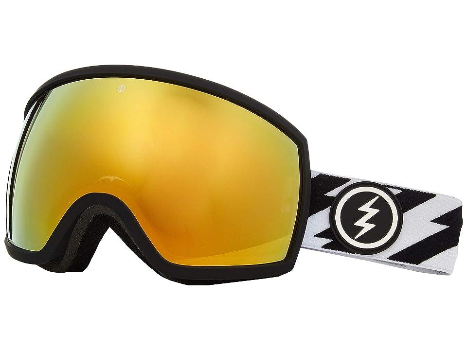 Electric Eyewear EGG (Volt Brose/Gold Chrome) Athletic Performance Sport Sunglasses