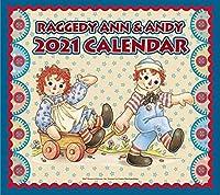 ラガディ・アン&アンディ 2021年壁掛カレンダー