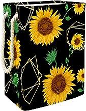 Laundry Hamper Golden SunflowersLarge Collapsible Laundry Basket