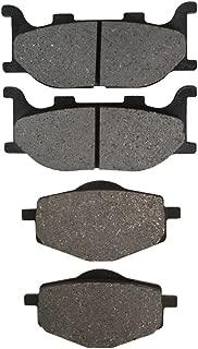 Road Passion Plaquettes de frein avant et arri/ère pour Yamaha TDM850 D//DC//E//EC 1992-1993//FZ750 1989-1991//FJ1200 1989-1992