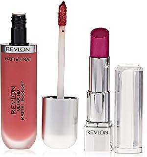 Revlon Ultra HD Matte Lip Color Devotion Promo Pack, Orchid