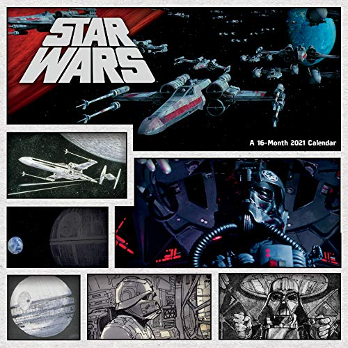 2021 Star Wars Wall Calendar $4.97
