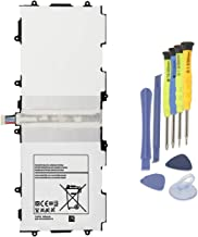 ANTIEE T4500E T4500C Tablet Battery Replacement for Samsung Galaxy Tab 3 10.1 GT-P5200(3G & Wifi) GT-P5210(Wifi) Gt-P5220(LTE, 3G & Wifi) GT-P5213 P5210 P5200 P5220 P5213 With Installation Tools 3.8V