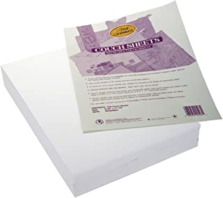 Arnold Grummer Reusable Couch Blotter Sheets, 9-1/4 x 11-3/4 Inches, 100 Sheets