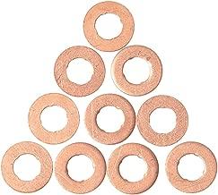 Moligh doll 280pzs Juego de junta arandela de cobre clasificado profesional Kit de surtido de sellos de anillo plano M5-M20 con caja para accesorios de hardware