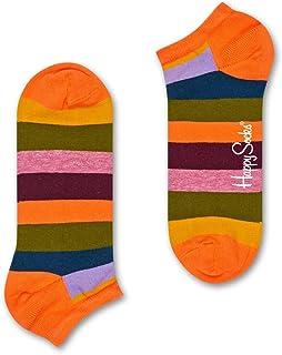 Meia Soquete Happy Socks Stripe Low Sock Feminina