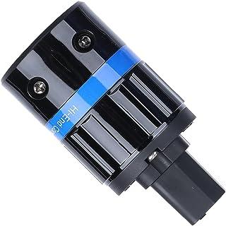 Gind Prise de Cordon d'alimentation CA, Prise en cuivre Pur Réduction du Bruit 100‑250 V Bon Effet de Blindage pour Les ap...