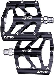 IMIKEYA 1 Pair Mountain Bike Pedal Aluminum Lightweight Non- Slip Bicycle Platform Flat Pedals for Road Mountain BMX MTB Bike