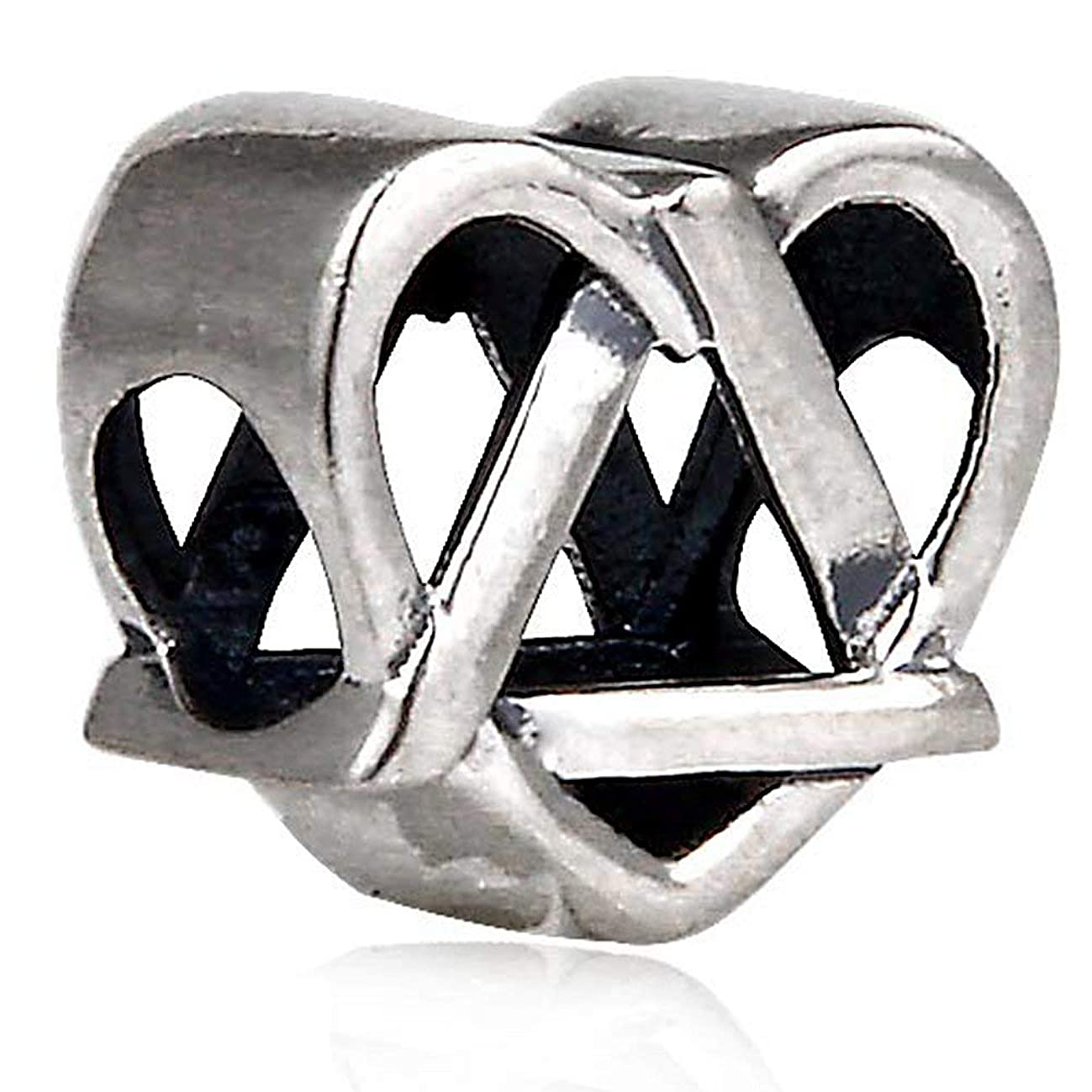 DIY 925 Sterling Silver Jewelry Reflections Adoption Symbol Beads Fits Style Charm Bracelets