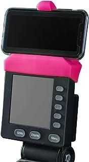 Telefonhållare gjord för PM5-bildskärmar av roddmaskin, SkiErg och BikeErg - Silikon fitnessprodukter