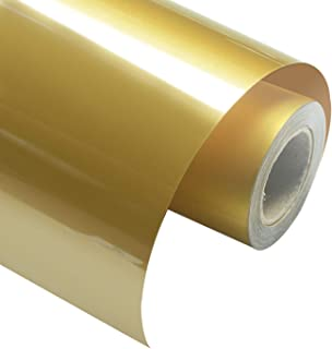 gold iron on transfers