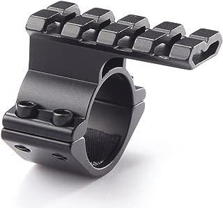 NcDe 25.4mm/30mm Tactical Laser/Flashlight Barrel Clamp Mount with Rail for 12 Gauge Shotguns and Magazine Tubes Fits Remington 870 Mossberg 500 590a1 Maverick 88