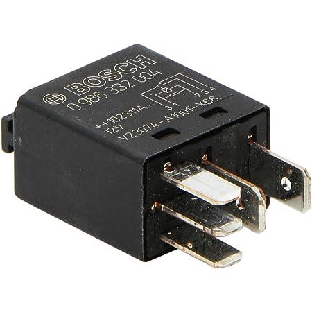 Bosch 0986332004 Mini Relais 12v 60a Ip5k4 Betriebstemperatur Von 40 C Bis 85 C Schließer Relais 4 Pins Auto