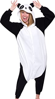 Unisex Adult Pajamas - Plush One Piece Cosplay Panda Animal Costume