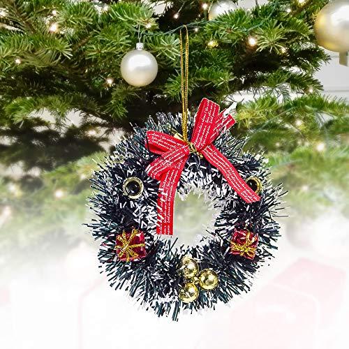 Lemoning Home Decor, New Creative Christmas Ornaments Garland Christmas Tree Pendant Ornaments