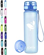 AORIN Sport waterfles - 350ml/500ml/750ml/1L, Tritan Gym Fles BPA-vrij & Drinkflessen, Lekvrij, One Click Flip Deksel/Kind...