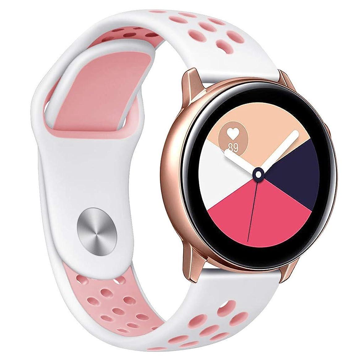 レトルト連邦洗練入学祝い !!! for Samsung Galaxy Watch Active -シリコーン交換用手首ウォッチバンドスポーツテクスチャーウォッチブレスレット腕時計アクセサリー用ギフト