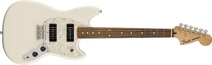Fender Mustang 90 Short Scale Electric Guitar - Pau Ferro Fingerboard - Olympic White