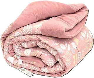 【布団と毛布のいいとこどり!】昭和西川 ボア布団 シングル 洗える 肌寒い時期にぴったり 春 秋 冬 ピンク あったか マイクロファイバー 中わた増量1.3kg 掛け布団 毛布 シングルロング 150×210cm