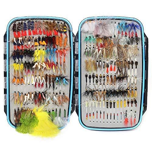 YZD - Moscas de pesca con mosca para truchas (225, 194, 180, 110, 60 unidades)