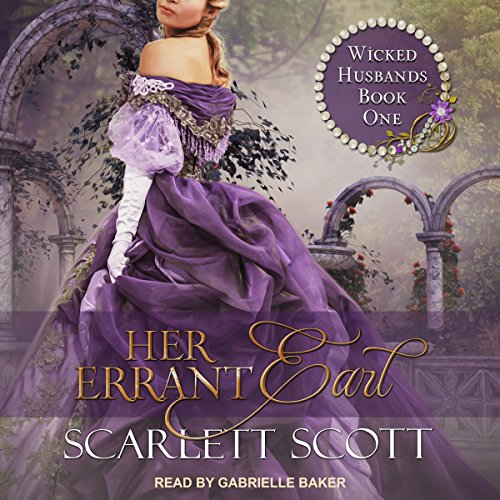 Her Errant Earl audiobook cover art