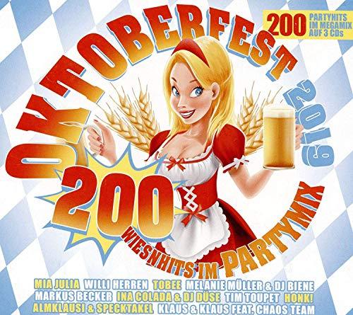 Oktoberfest 2019 - 200 Wiesnhits im Partymix