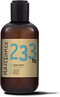 Naissance Golden Jojoba Oil 250ml. 100% Pure & Natural