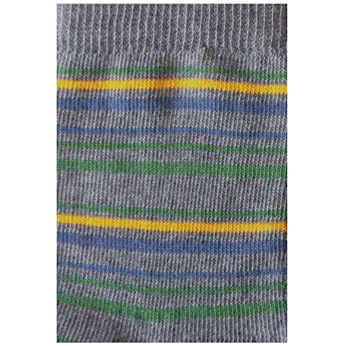 GRÖDO Kinder Ringel Socken Bio-Baumwolle/Elasthan, Coke/Blatt/Sonne/Denim, Gr. 19-22 (1-2)