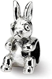 925 Sterling Silver Charm For Bracelet Kids Bunny Bead Kid Line Fine Jewelry Gifts For Women For Her