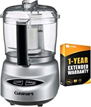 Cuisinart Mini Prep Plus Food Processor (DLC-2ABC) with 1 Year Extended Warranty