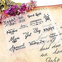 ホット販売は明確なスタンプ/シリコーンシール花スタンプDIYスクラップブックアルバム/カードの生産をお楽しみください