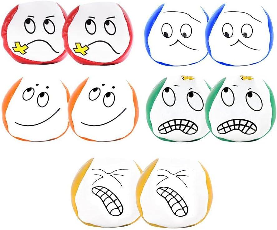 Direct store Lewpox Juggling Balls for 5 ☆ popular Set Ball Beginners Creative