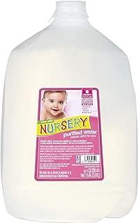 Nursery BCA01541 NuRosery Purified Water44; 6 x 128 oz