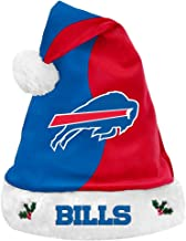 Forever Collectibles NFL Football Team Logo Basic Holiday Plush Santa Hat