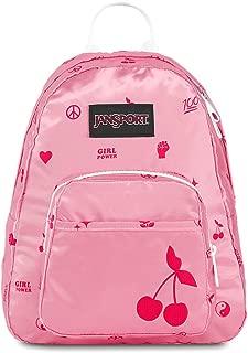 JanSport Half Pint FX Mini Backpack - Ideal Day Bag for Travel & Sightseeing | Girl Power Print