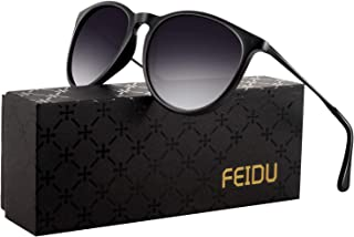 polarized sunglasses for women men - FEIDU retro womens...