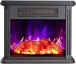 YLJYJ Extintor de Incendios eléctrico Estufa de leña calefacción Realista LED Efecto de Llama protección contra sobrecalentamiento