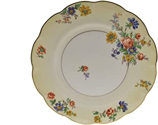 Theodore Haviland Normandies Garden Ivory Floral 9.5