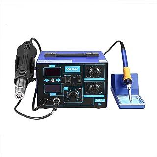 Soldador 862d + STATION Digital ajustable 2 en 1 estación de soldadura de aire caliente 220