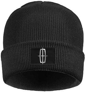 Mens Womens Lincoln-Motor-Company-Cars-Logo- Vintage Knit Caps