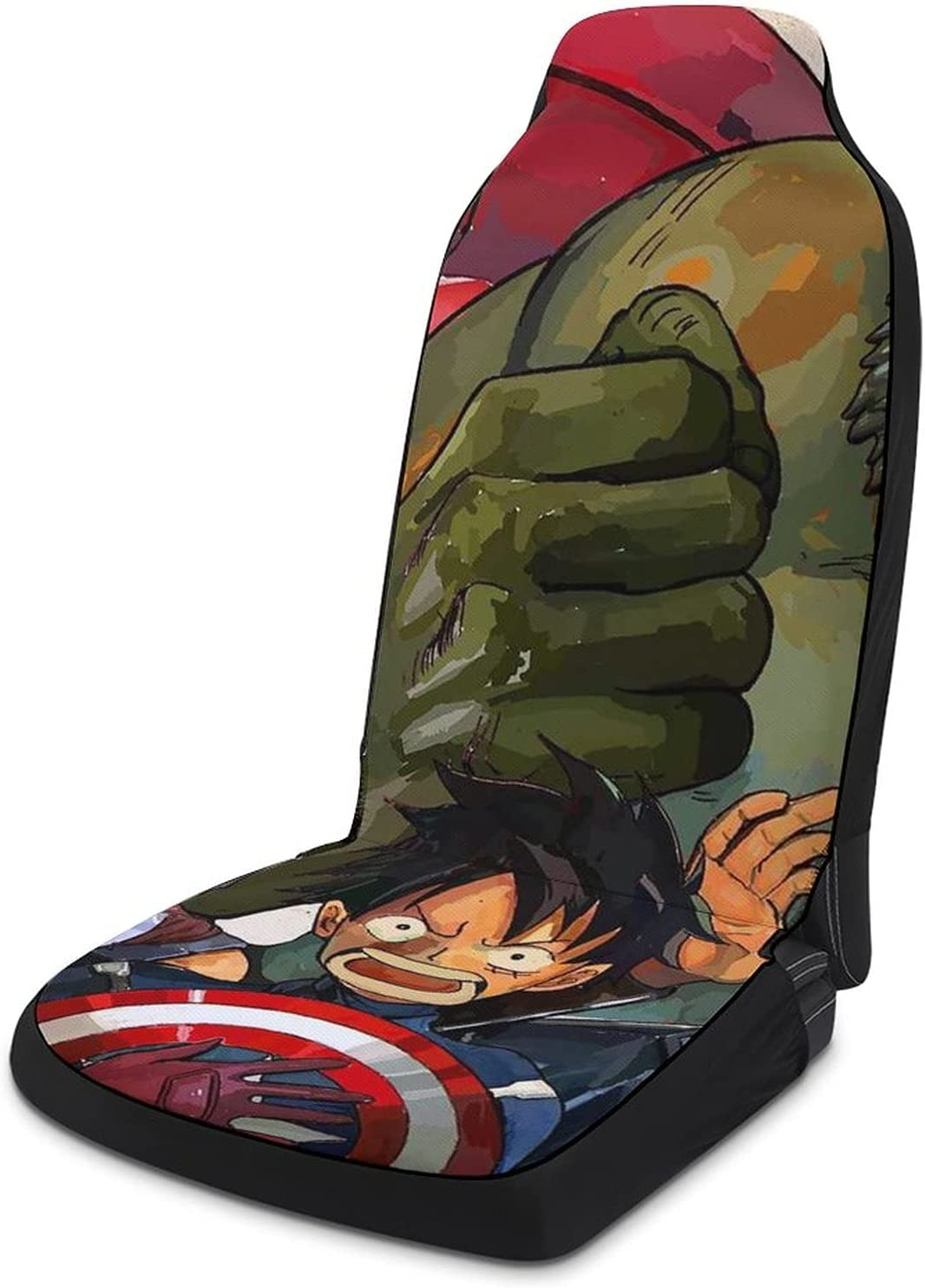 One Piece Avengers Front Seat Covers C Shipping included Full Women Sets Girly for Challenge the lowest price
